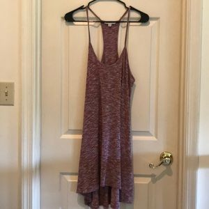 m american eagle pink/red dress